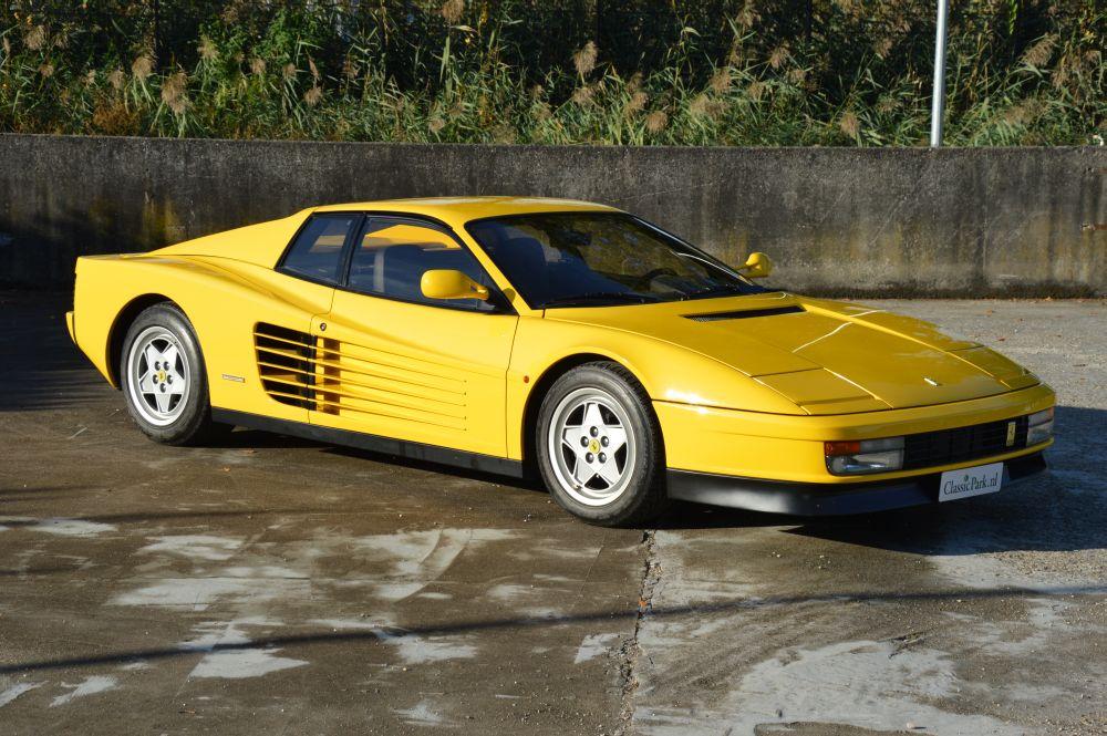 Classic Park Cars Ferrari Testarossa